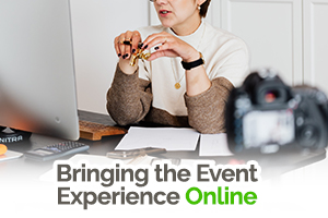 Thinking of hosting an online event? Check out our series of tips, guides and inspiration to help you with taking the first steps of bringing your next event experience, from offline to online