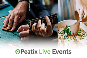 Check out these upcoming Peatix Live events!
